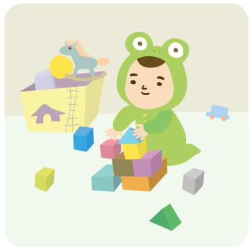 05 아기 - 장난감놀이